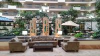 view of lounge seating at Embassy Suites