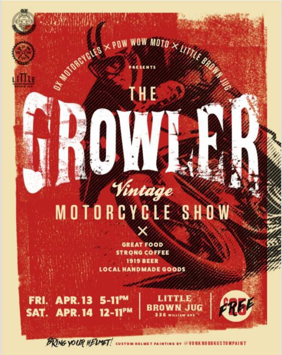 Little Brown Jug Winnipeg_The Growler Vintage Motorcycle Show