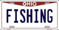 Ohio fishing license plate
