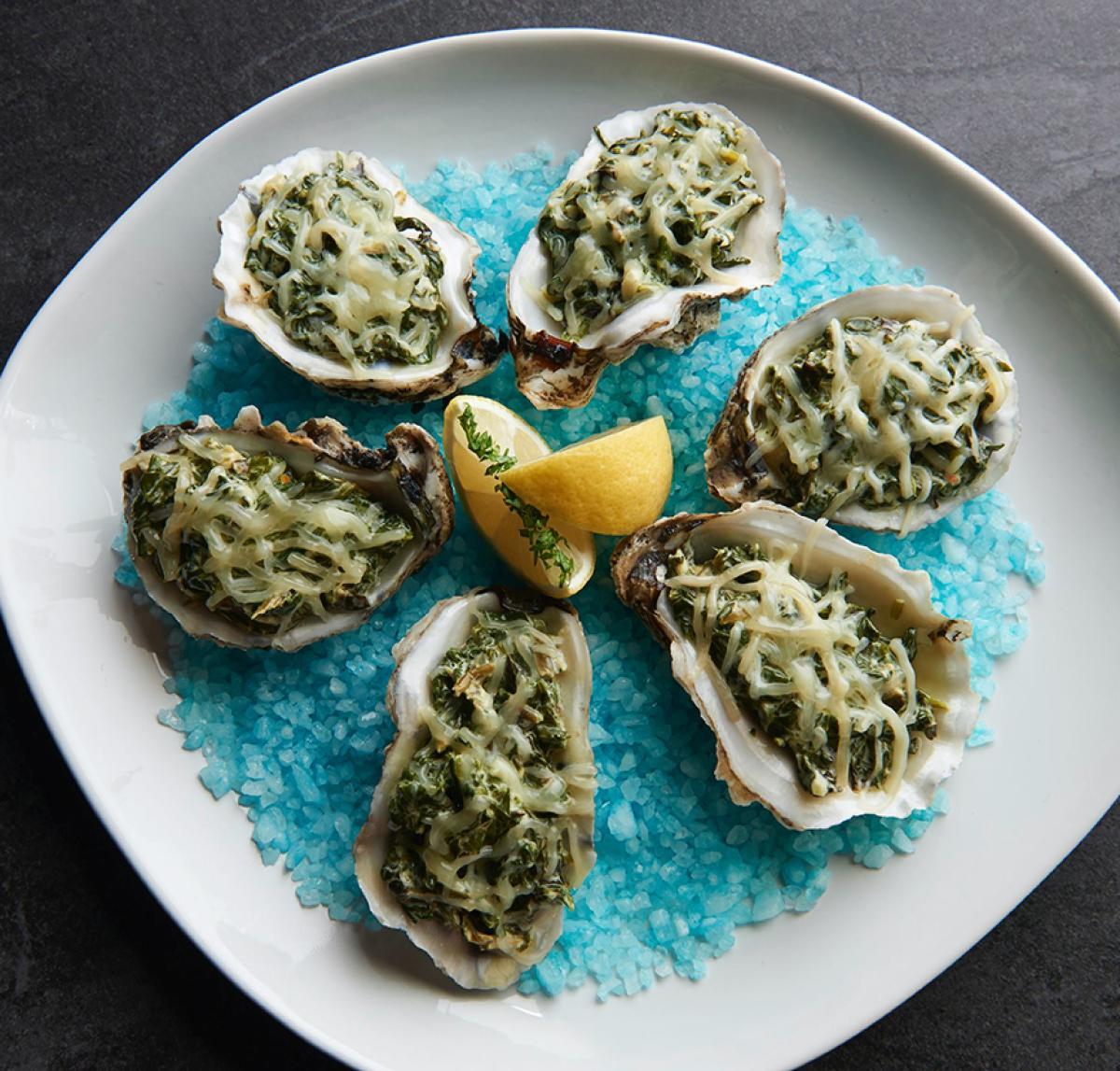 Mazen's Oysters Rockefeller