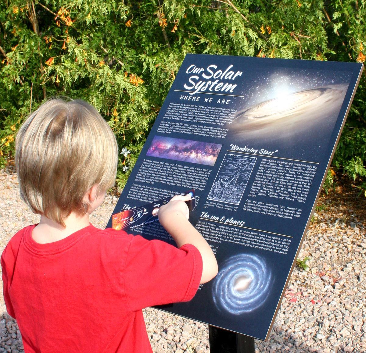 Chandler Solar System Walk