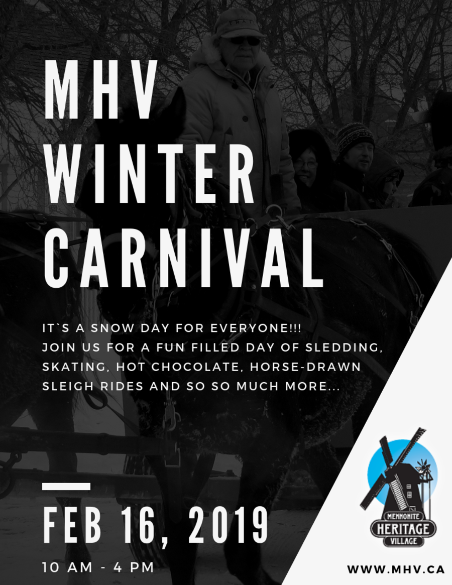 Mennonite Heritage Village Winter-Carnival