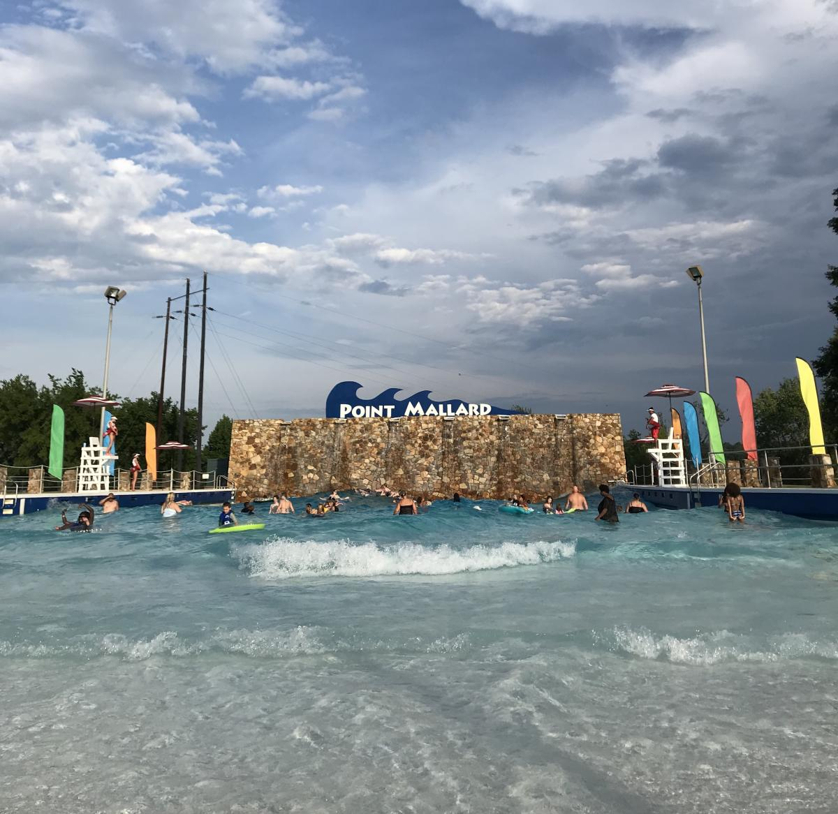 point mallard wave pool