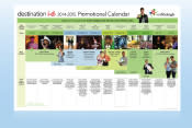 2013-14 Marketing Calendar snapshot
