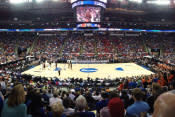 NCAA Basketball court
