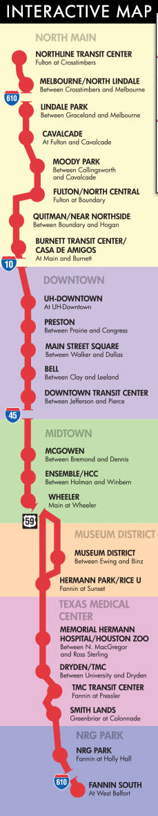 Houston's Metro Rail System | Houston Transportation