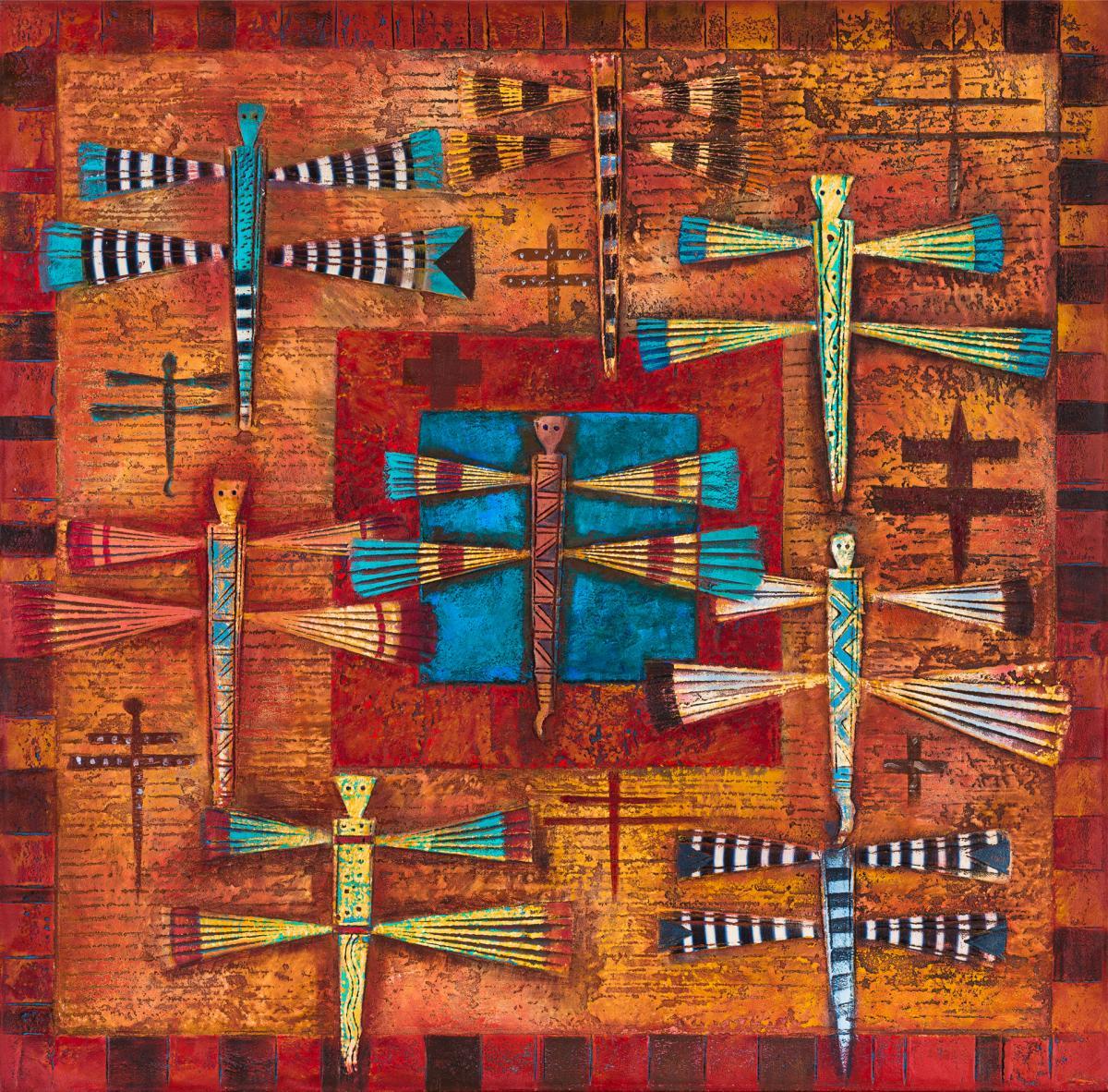 Dragonfly Constellation by Tony Abeyta
