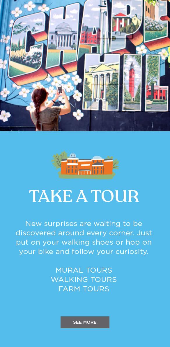 Take a Tour Image block for Landing Page