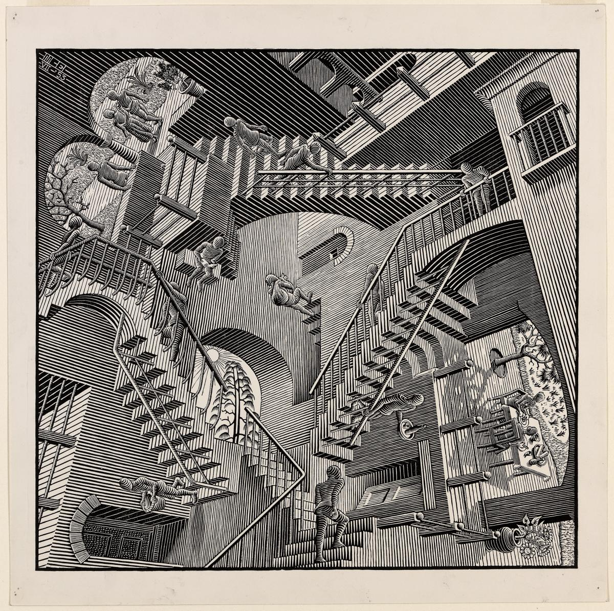 Exhibition Between Two Worlds | Escher X nendo at NGV