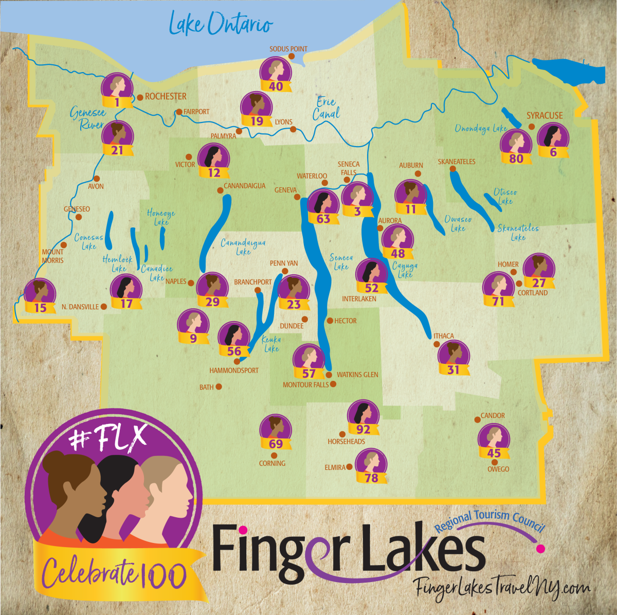 100 Ways to Celebrate Women Empowerment in the Finger Lakes
