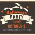 Halloween Party in the Fireside Lounge