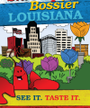 Shreveport-Bossier Tourism Coloring Book Cover