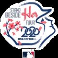 USA Softball 2020 - Stand By Her Tour - Logo