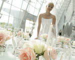 Bride By Table