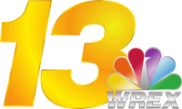 13 WREX logo