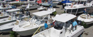 Boats on display at Lemon Bay Nautical Fest & Boat Show