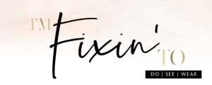 Fixin' to logo