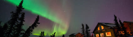 Aurora at Cleary Summit, Alaska