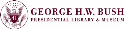 Bush Library Logo