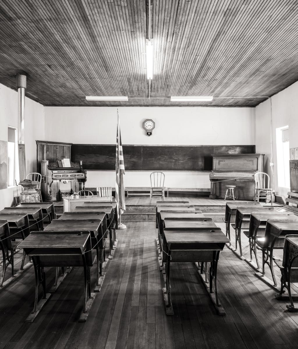 Kingston's schoolhouse turned museum