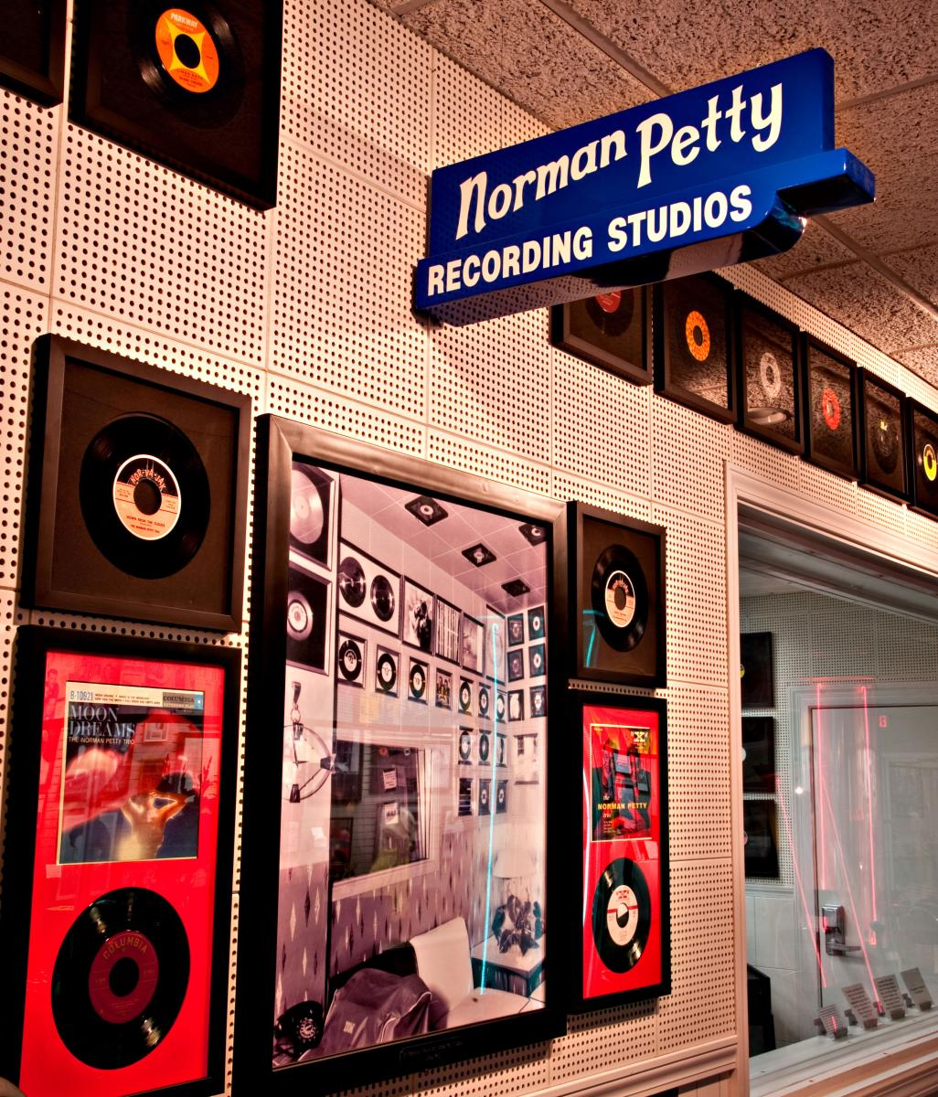 Norm and Vi Petty's Rock and Roll Museum in Clovis