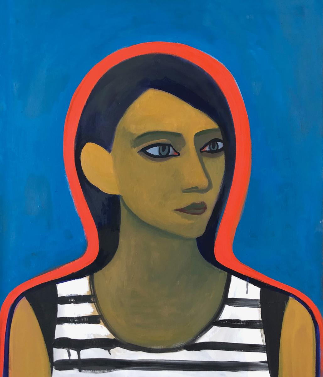 Portrait of Trisha, by Michael Ponce