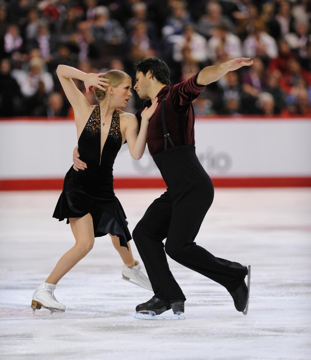 2014 Canadians-Senior Dance Free-Weaver & Poje