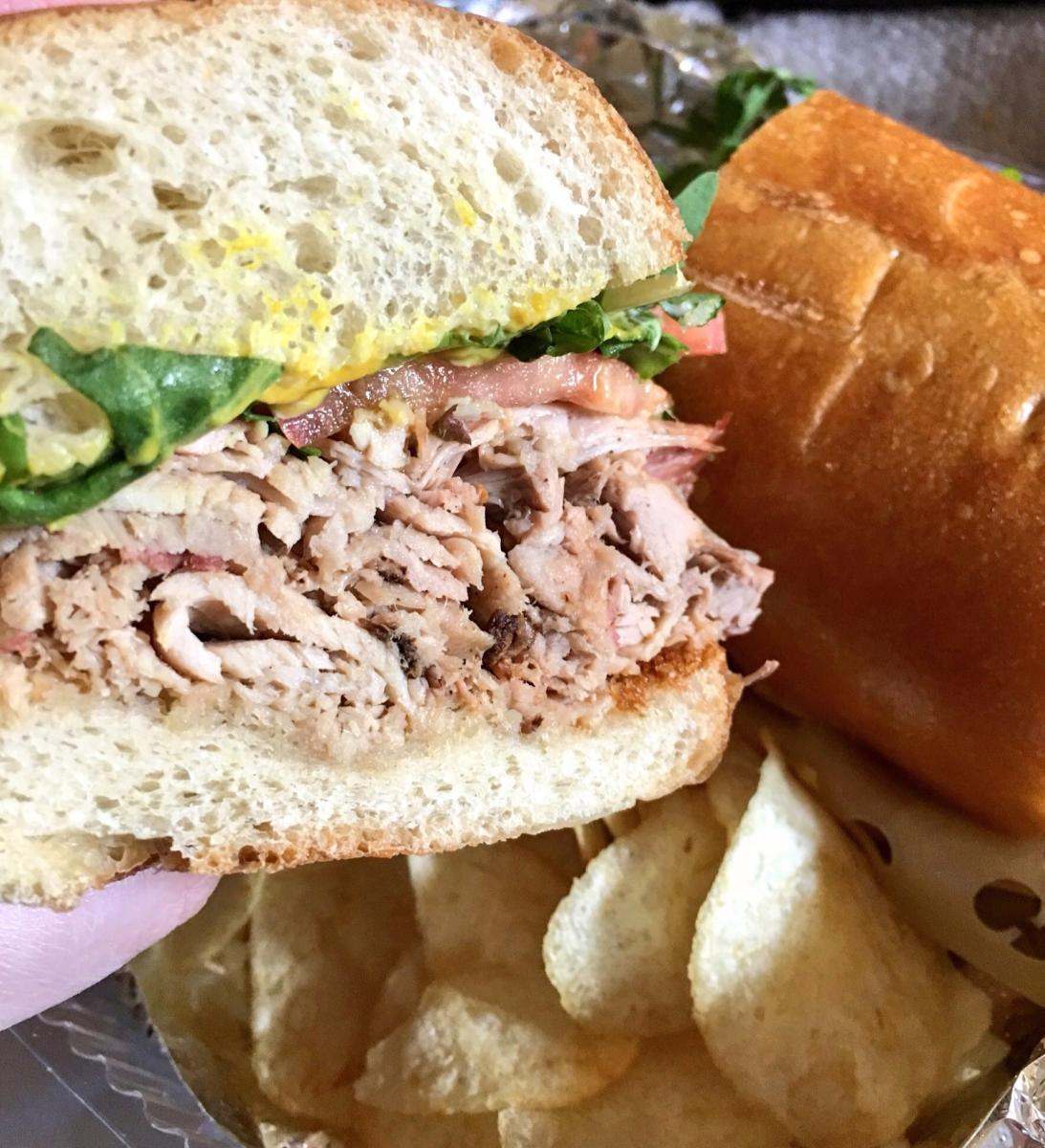 Sandwich at Amelia
