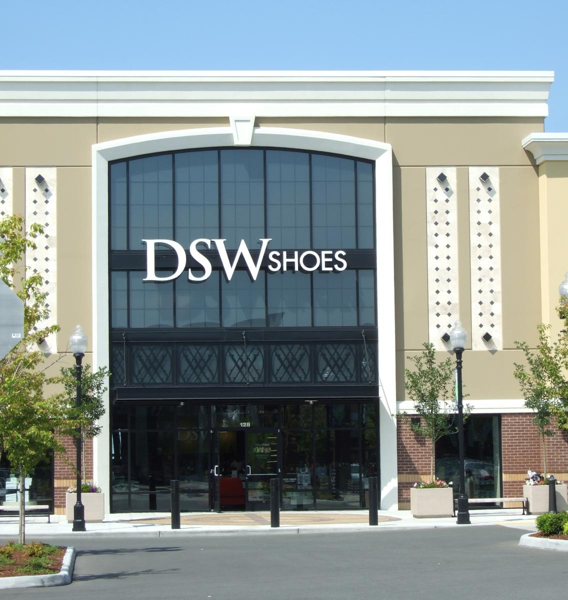 Exterior of DSW at Parkway Supercenter shopping