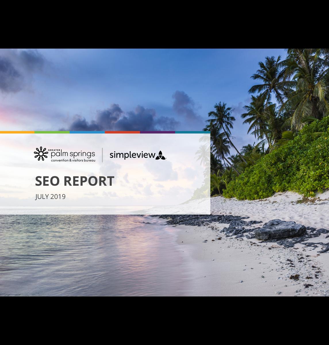SEO Report-DM Web content 2020