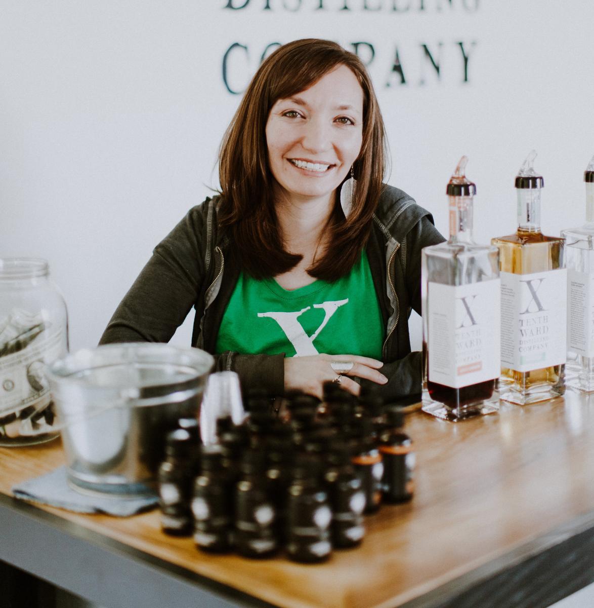 Tenth Ward Distilling's Monica Pearce
