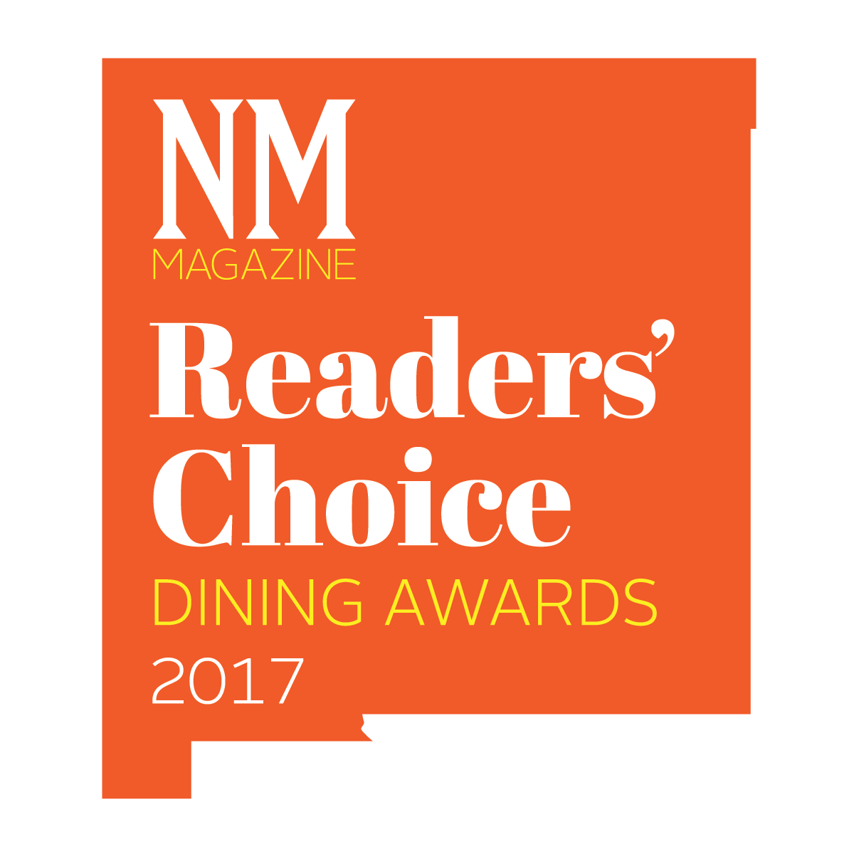 NM Magazine Readers Choice Logo