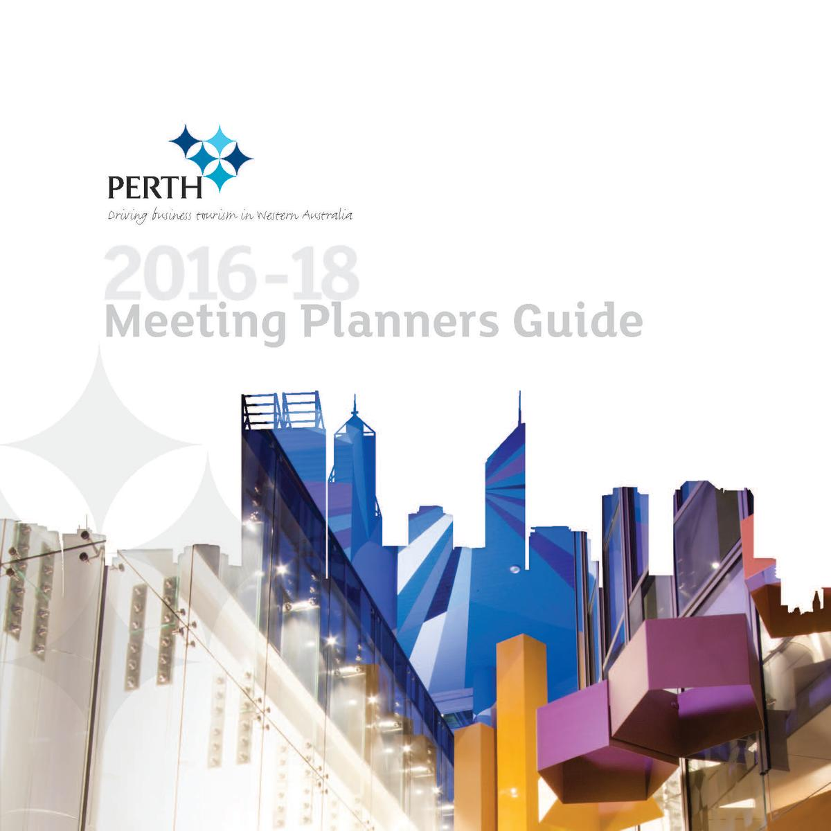 Meeting Planners Guide 2016-2018