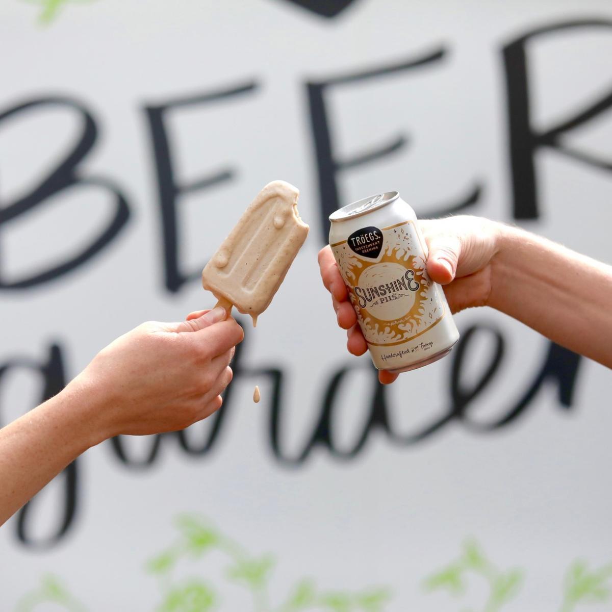 Troegs Beer Garden Photo