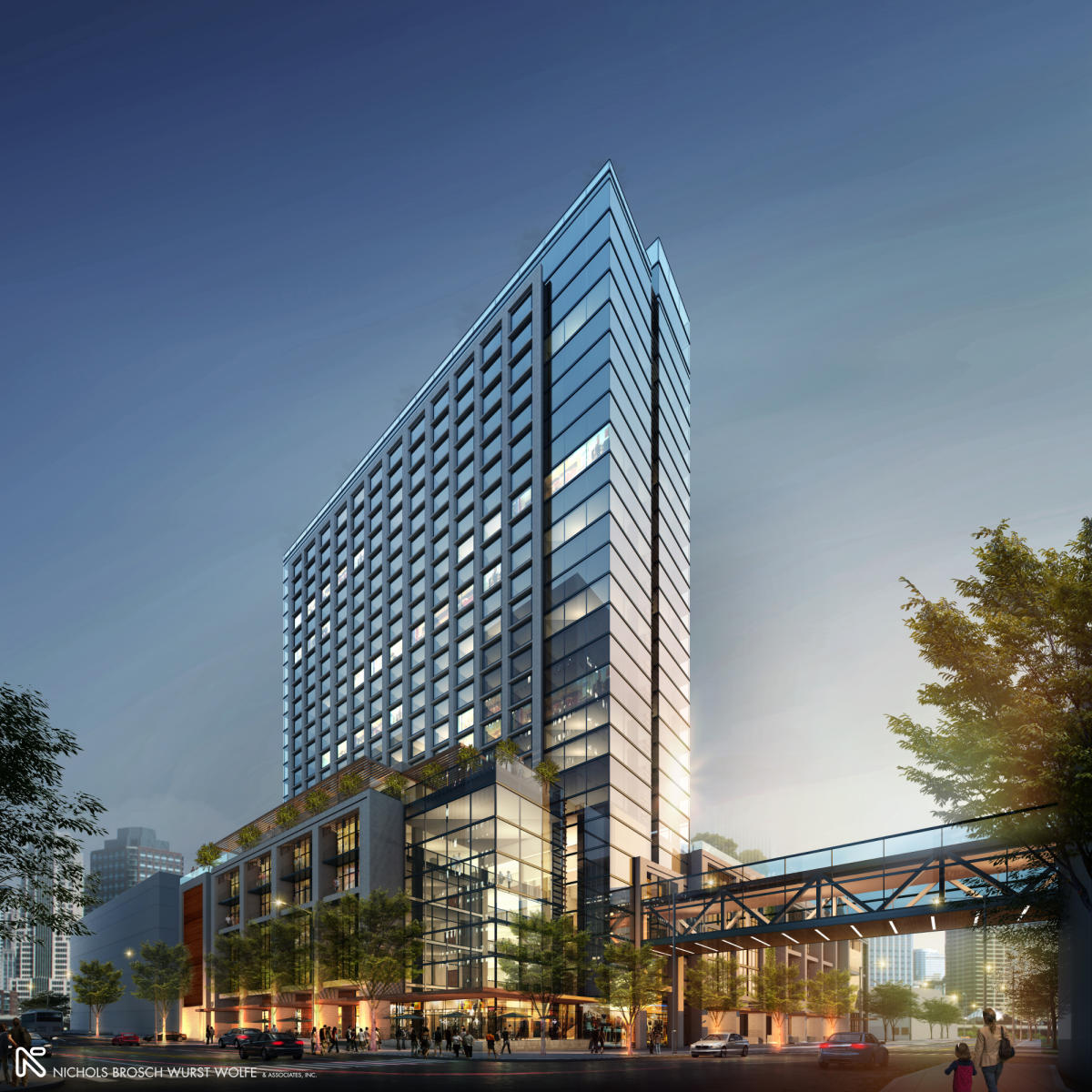 JW Marriott Water Street Rendering