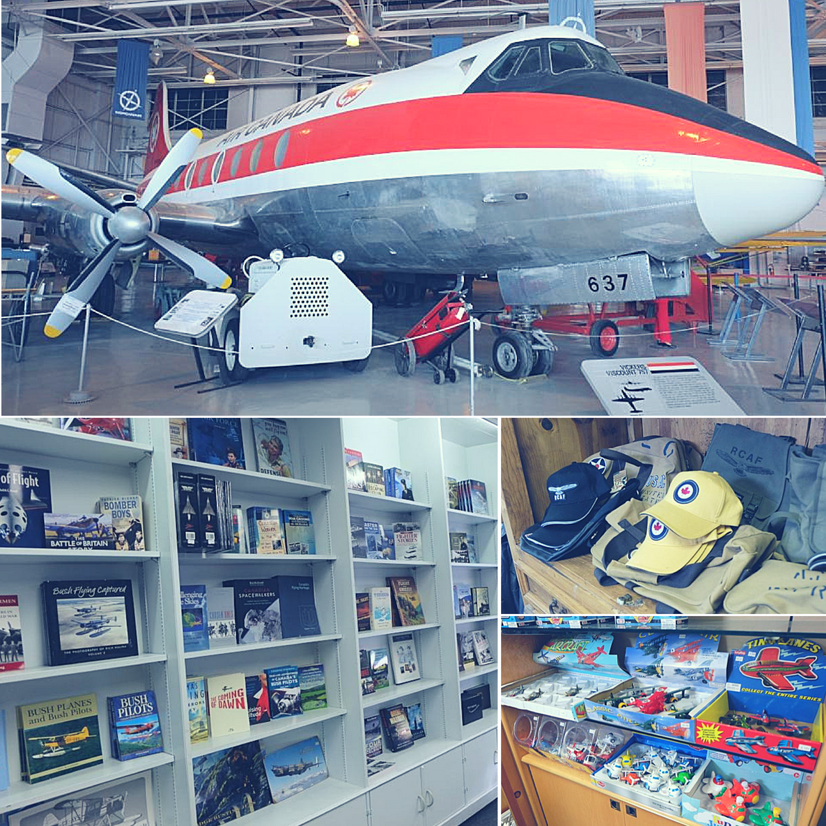 Royal Aviation Museum gift shop