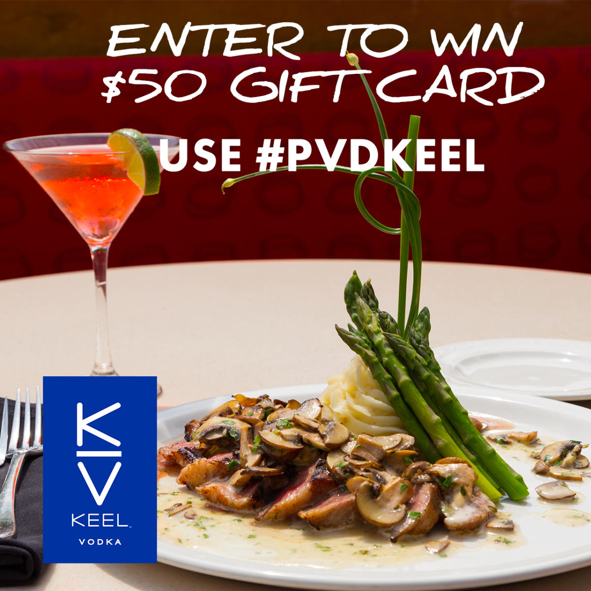 Keel Vodka Instagram Contest