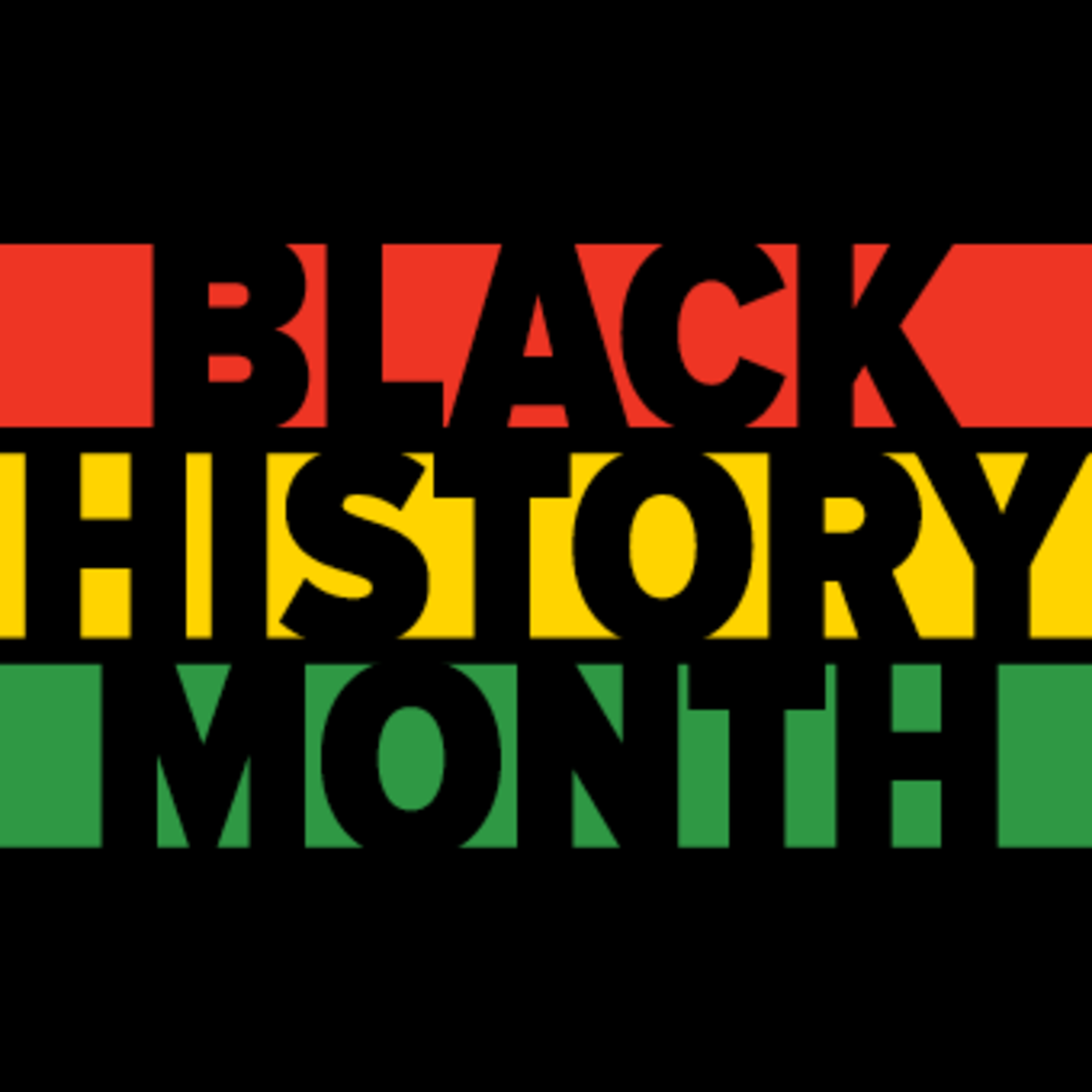 Black History Month Event Logo