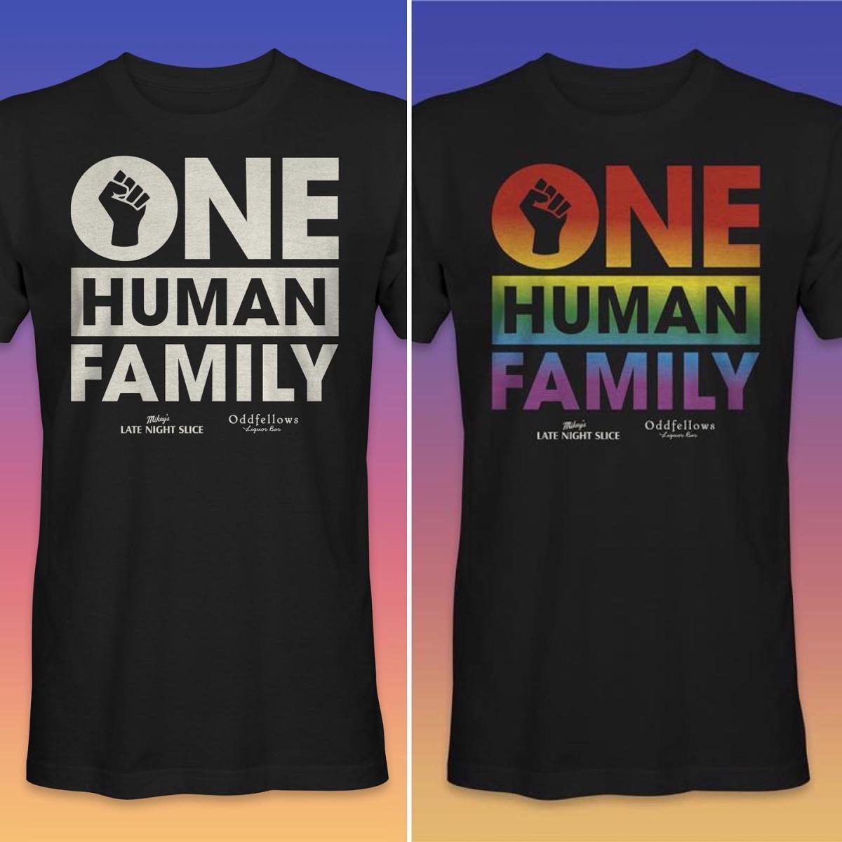 One Human Family shirt