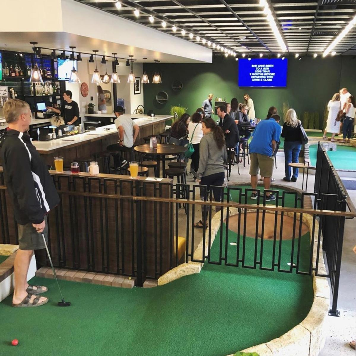 Old Town Putt Bar Area