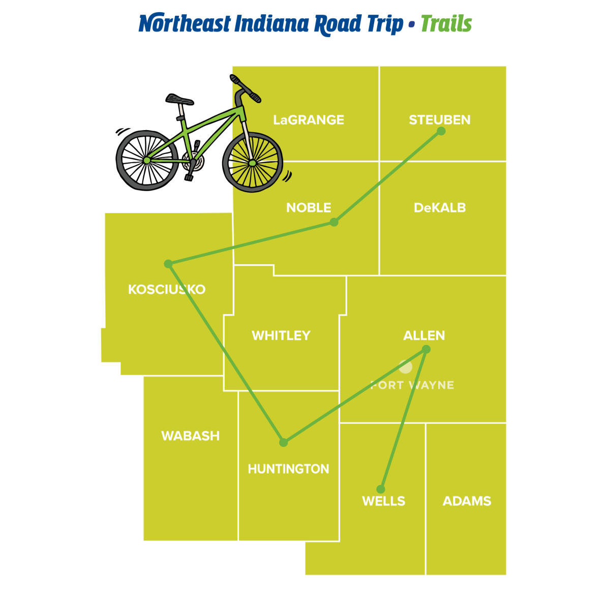 Trails - Northeast Indiana Road Trips