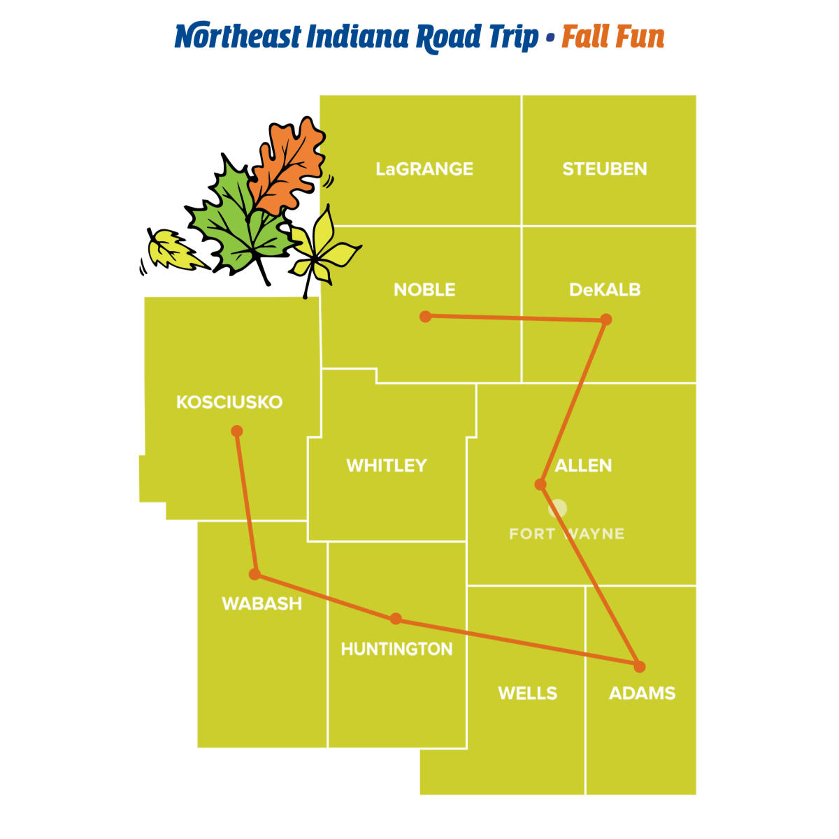 Fall Fun - Northeast Indiana Road Trips