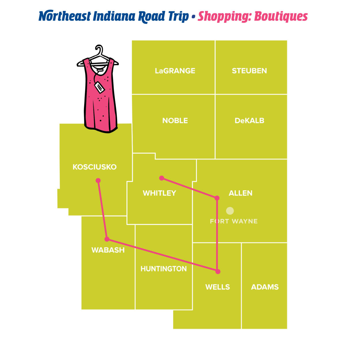 Boutiques - Northeast Indiana Road Trips