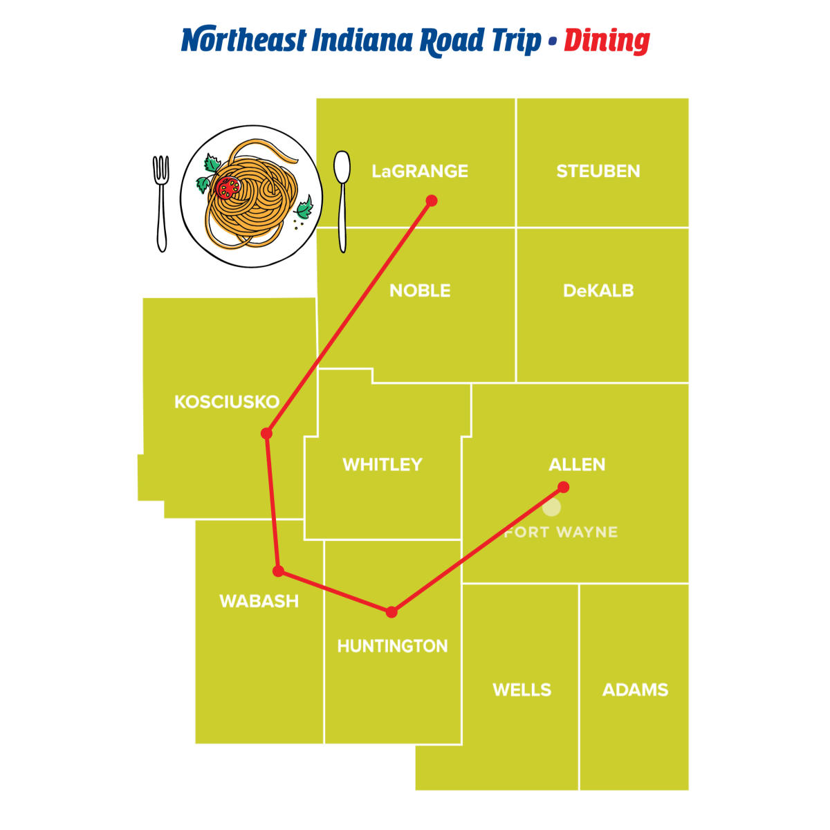 Dining - Northeast Indiana Road Trips