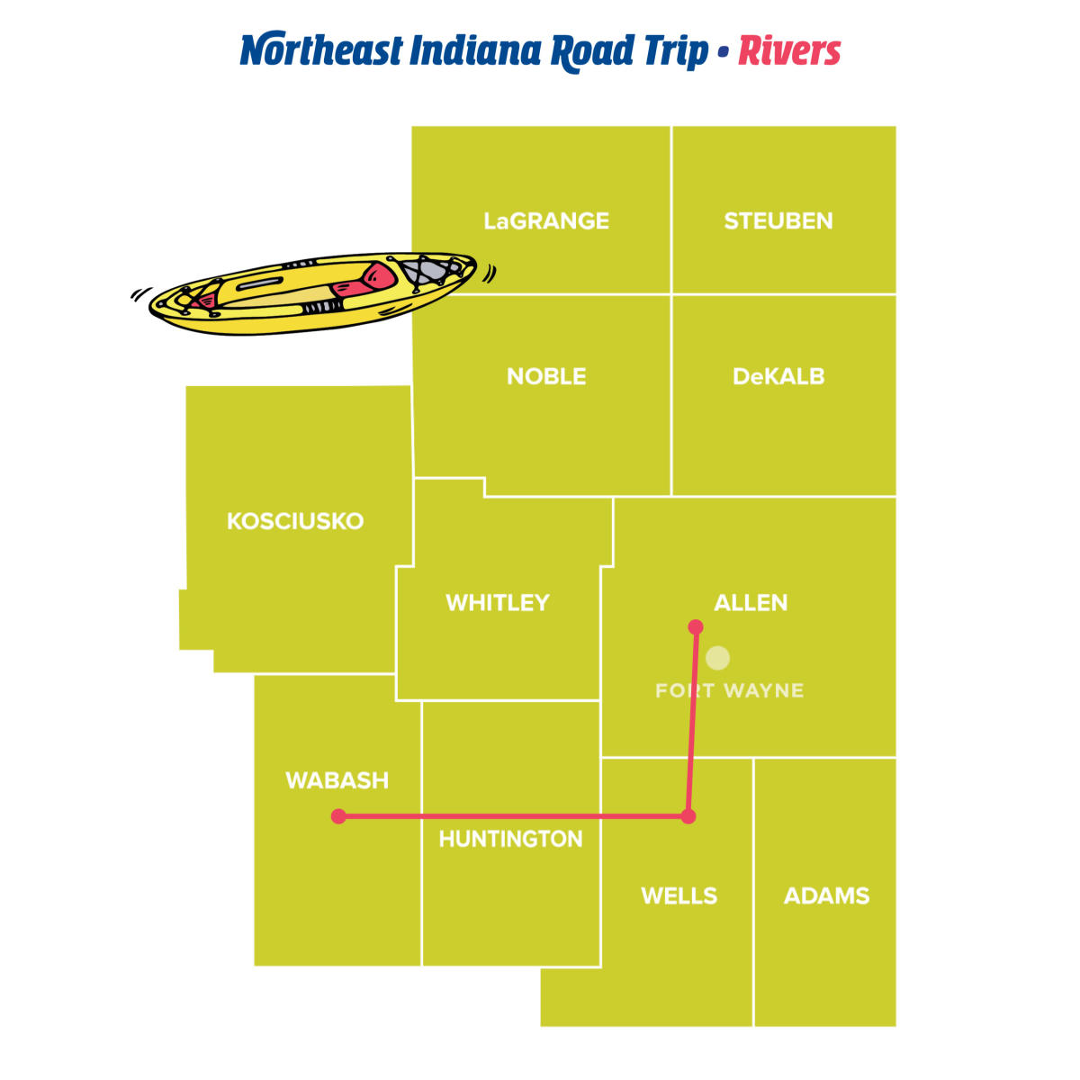 Rivers - Northeast Indiana Road Trips
