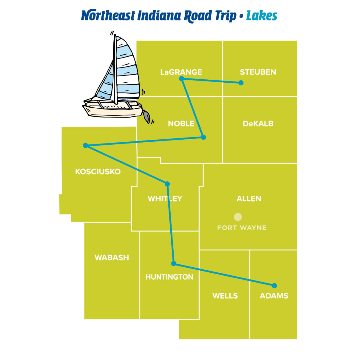 Lakes - Northeast Indiana Road Trips