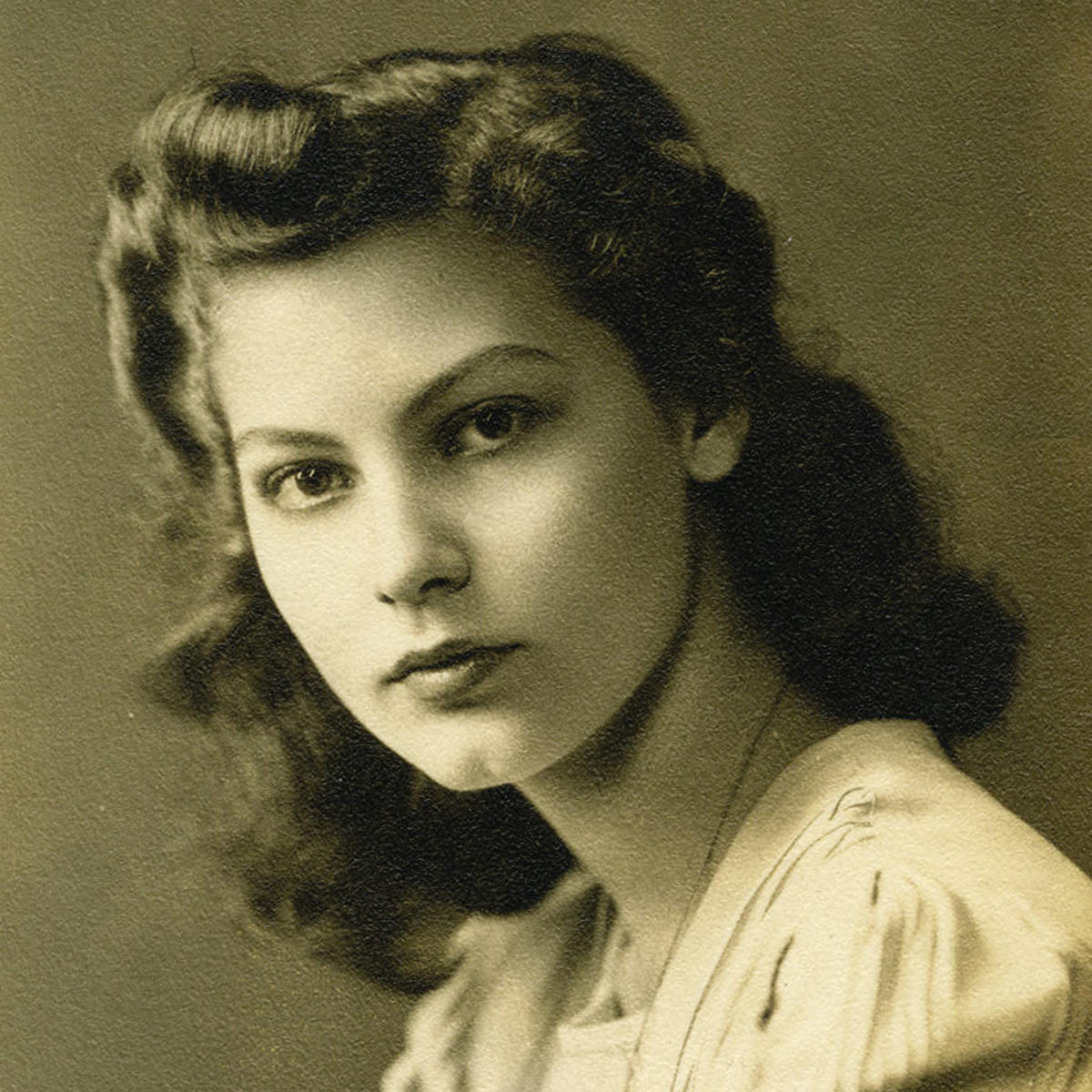 Young Ava Gardner Age 15