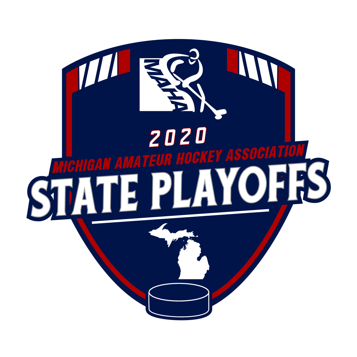 MAHA 2020 state playoffs logo