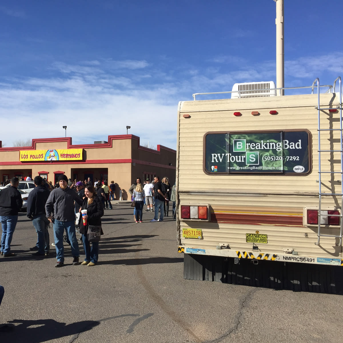 The RV that gives Breaking Bad Tours in Albuquerque, NM