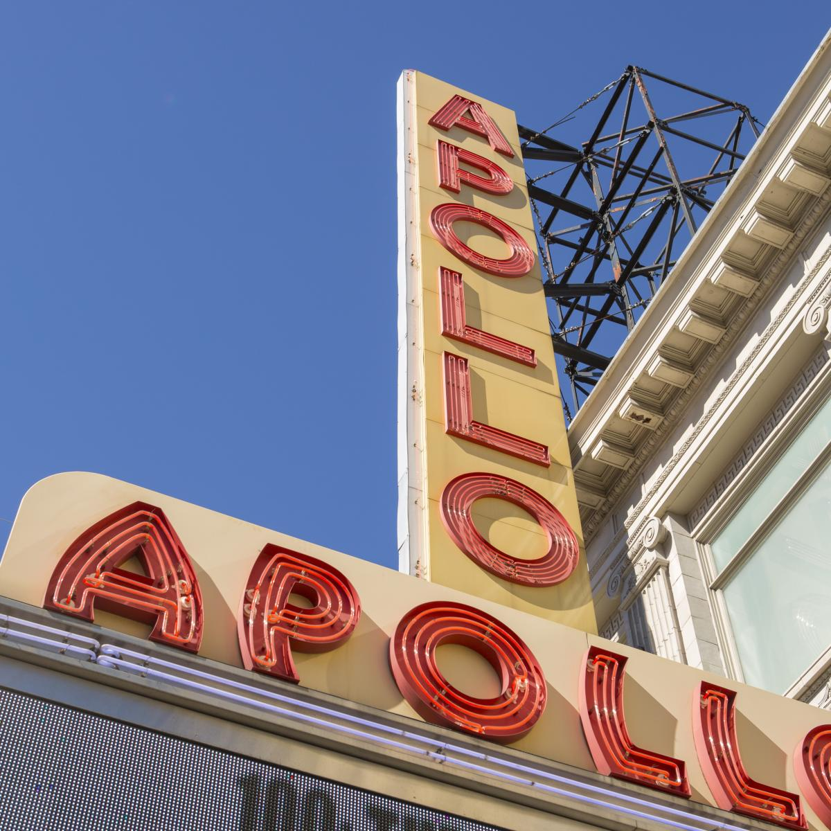 Apollo Theatre, Marquee, Harlem, Manhattan, NYC